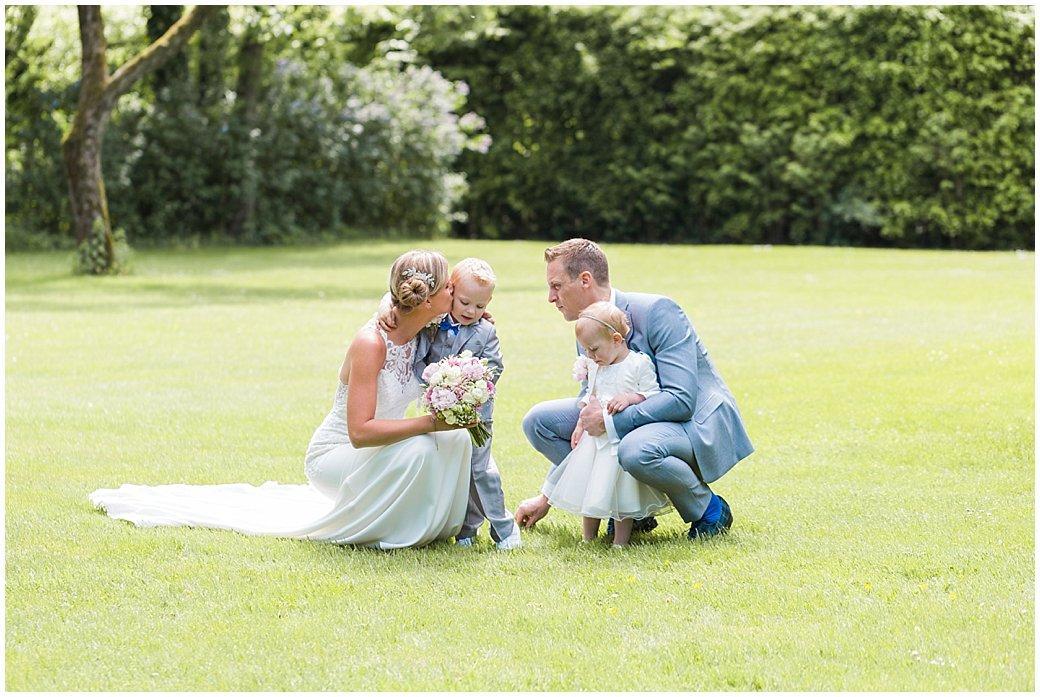 Tim en Mirella trouwen bij het Laer in Ommen